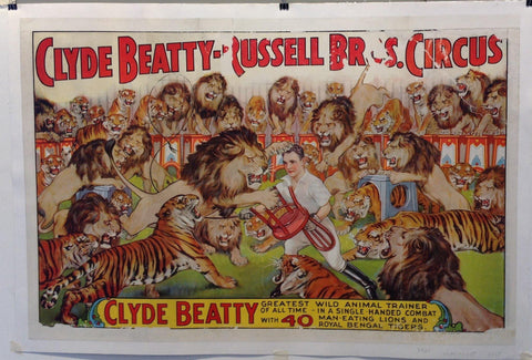 Clyde Beatty Russell Bros. Circus