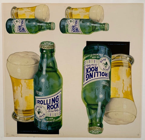 Rolling Rock Extra Paley Beer