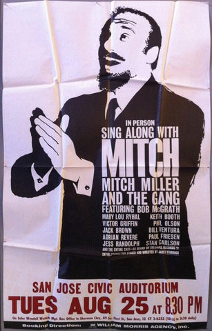 In person sing along with Mitch Miller and the Gang - Poster Museum