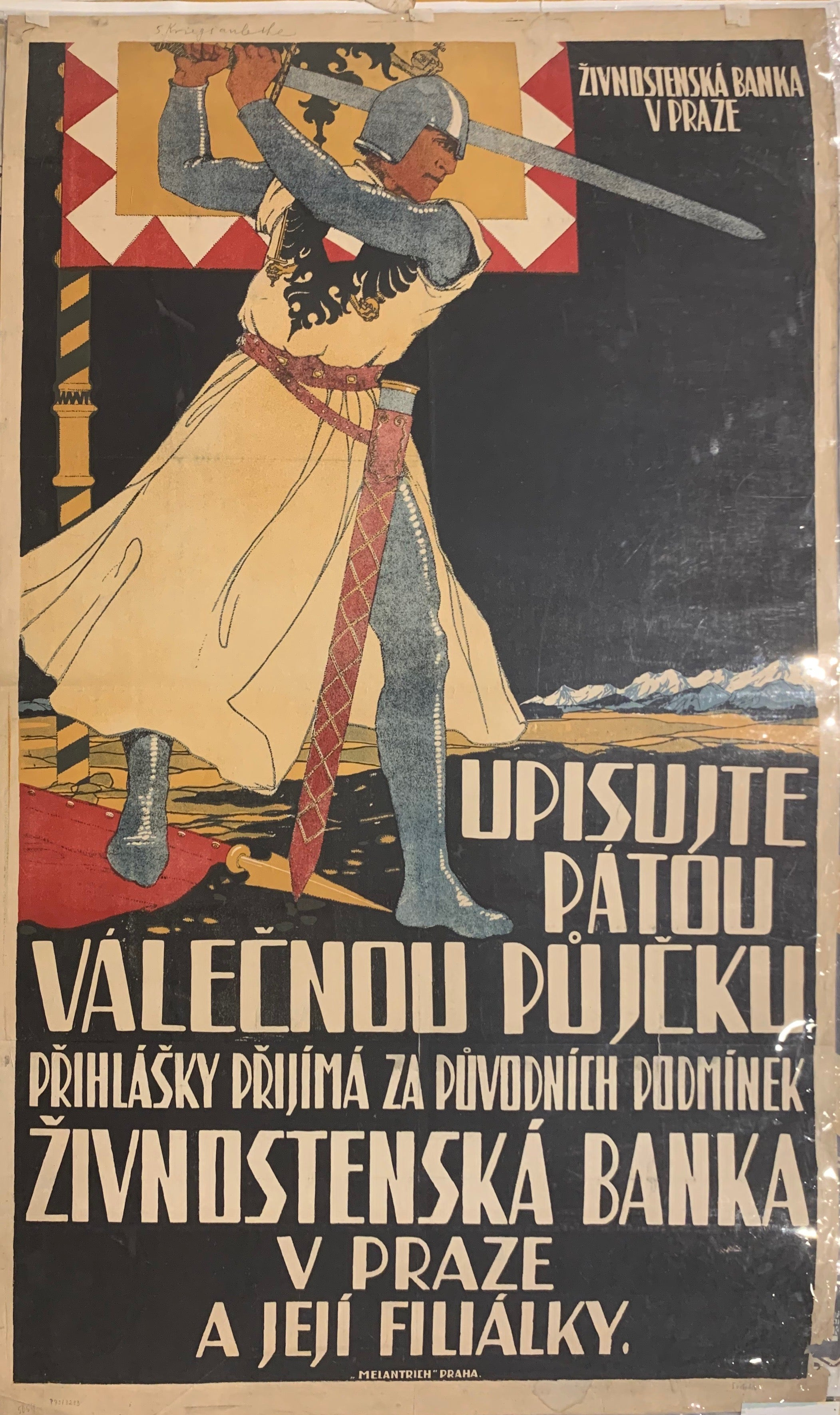 Czechslovakian War Loan Poster