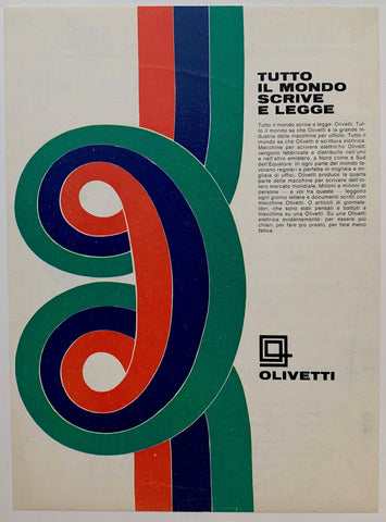 Olivetti Typewriters Print
