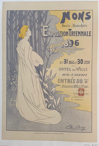 Mons Exposition Triennale 1896