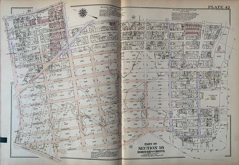 Atlas of the City of New York  Borough of the Bronx (Volume 3)