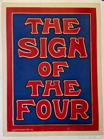 The Sign of the Four Poster