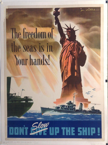 The Freedom of the seas is in Your hands!