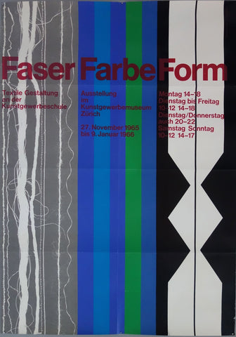 Faser Farbe Form