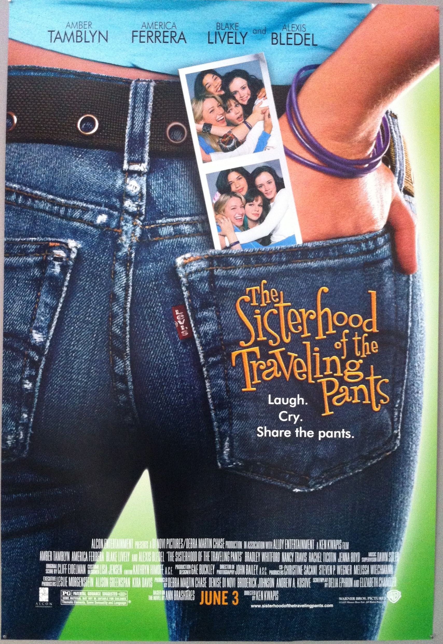 Image result for sisterhood of the traveling pants poster