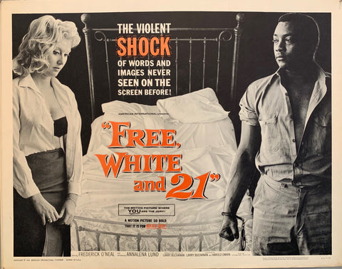 Free, White, And 21 Film Poster