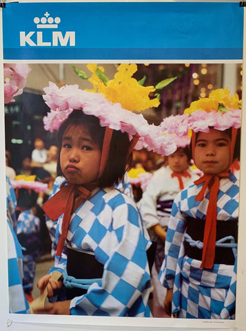 "KLM Airlines Travel ""Japan"" - Poster Museum"