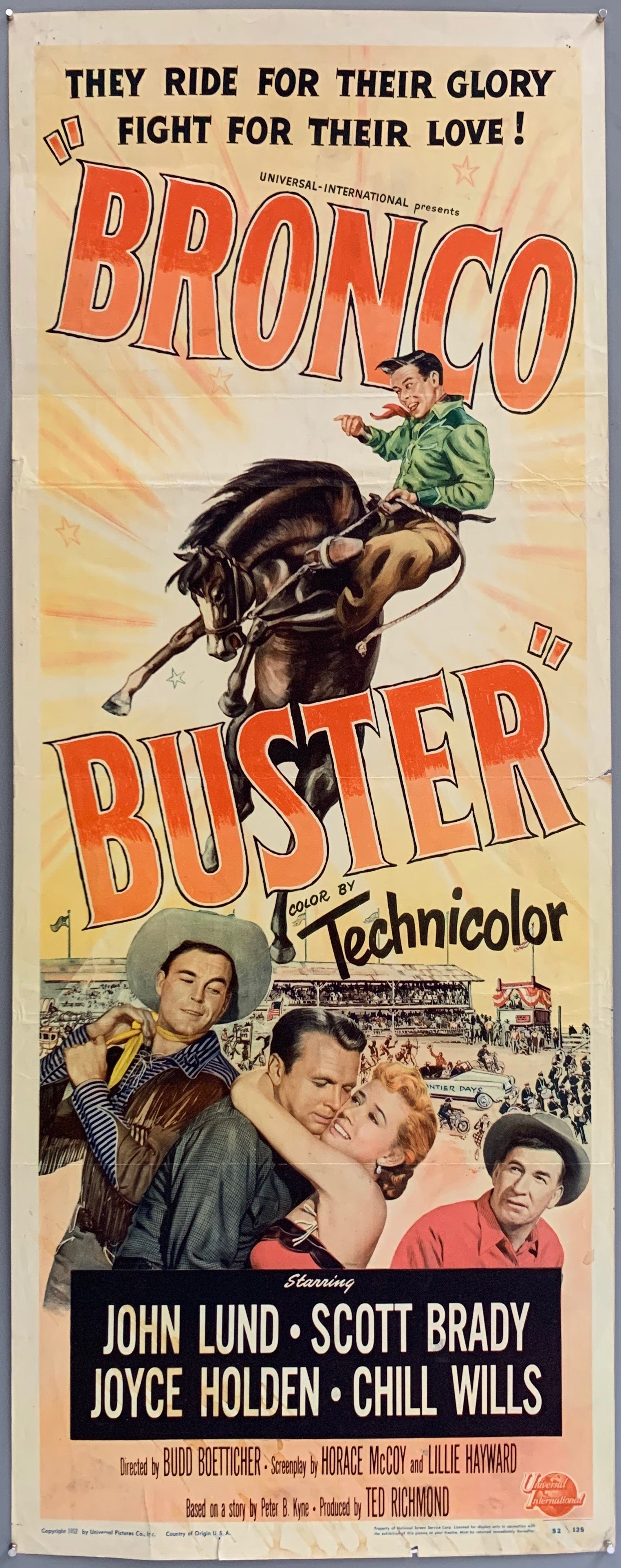 Bronco Buster Poster