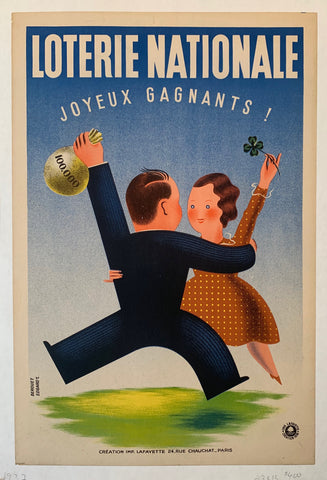Loterie Nationale Joyeux Gagnants Poster