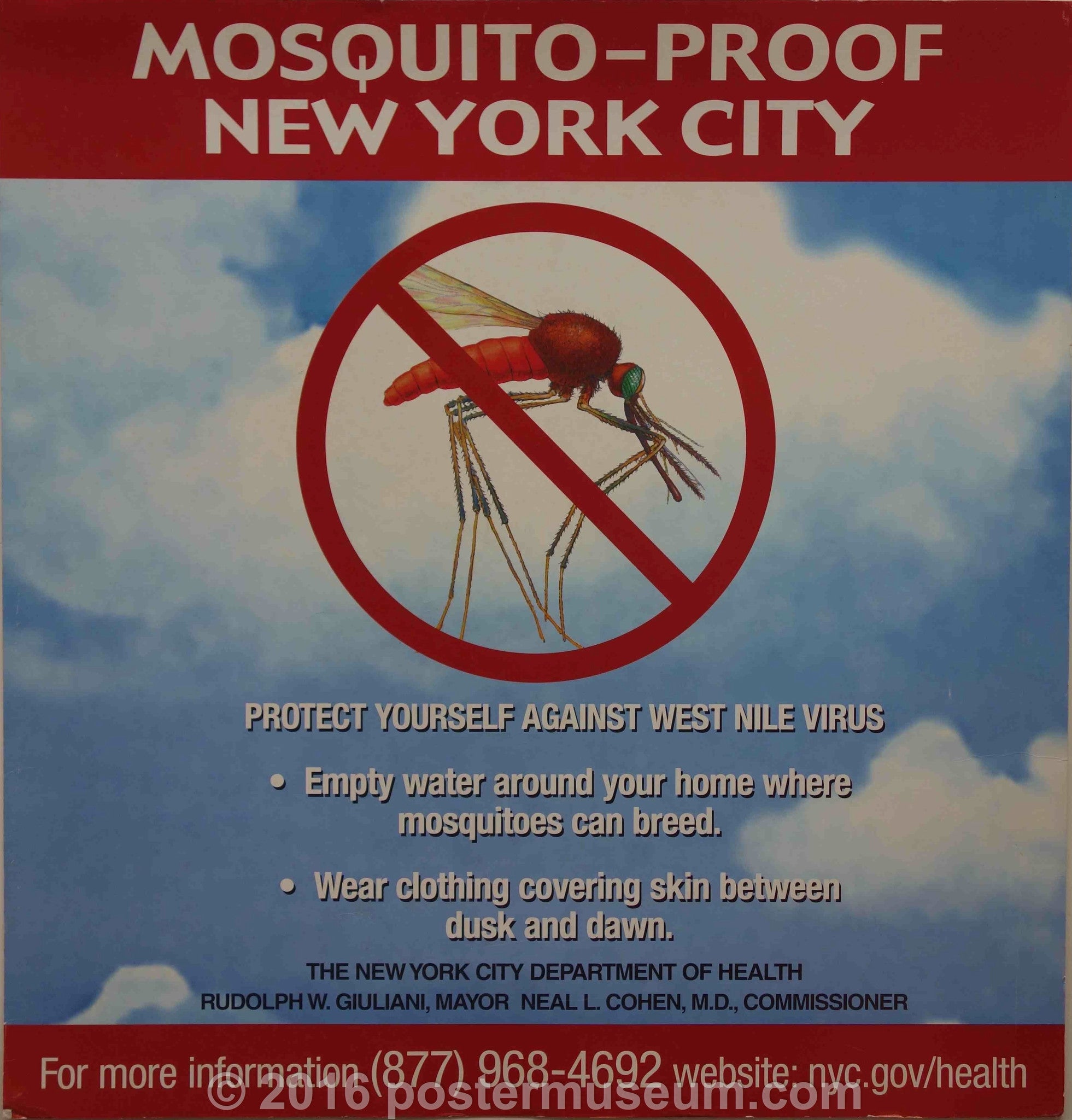 Mosquito-proof New York City