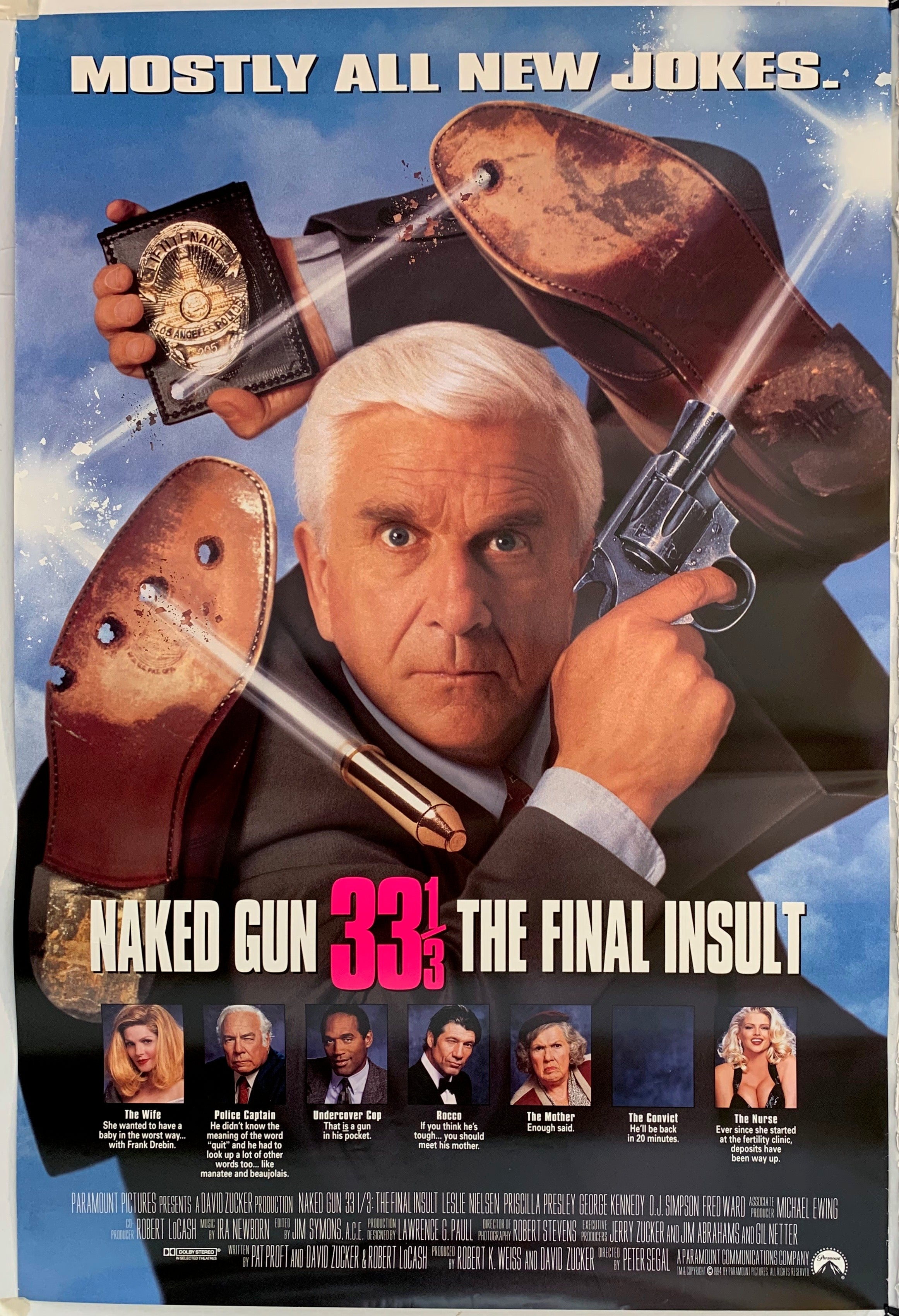 Naked Gun 33 1/3 The Final Insult