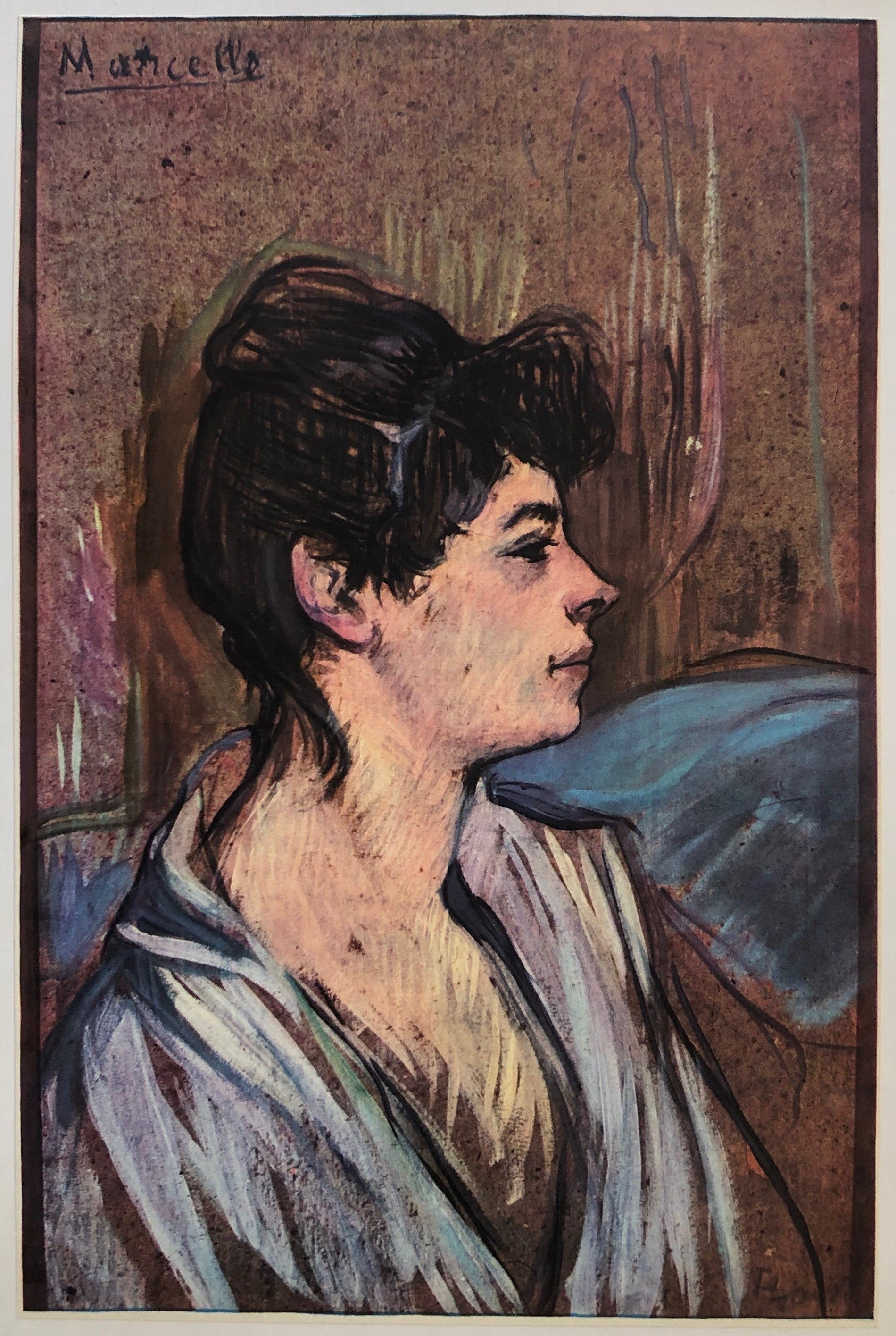 Marcelle by Toulouse-Lautrec