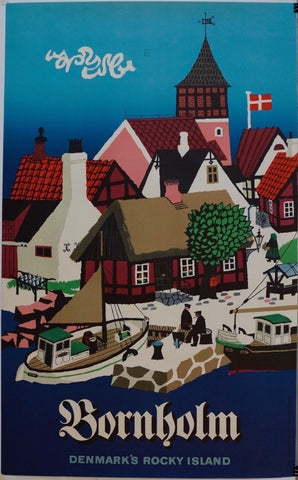 "Bornholm ""Denmarks Rocky Island"" - Poster Museum"