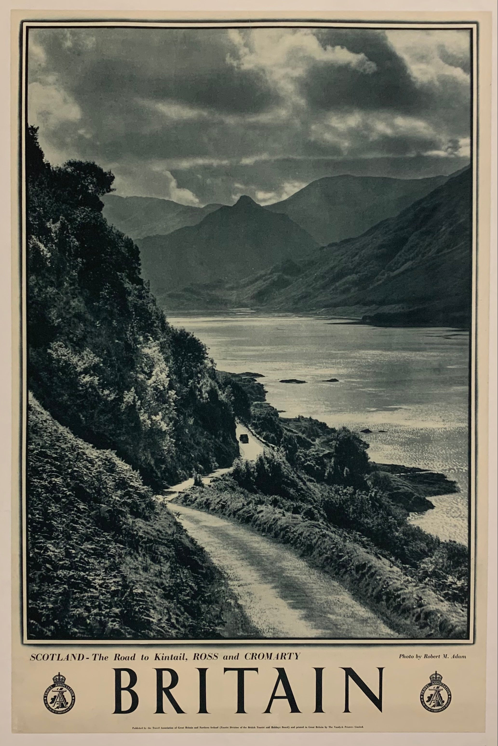 Britain- Scotland, the Road to Kintail, Ross and Cromarty