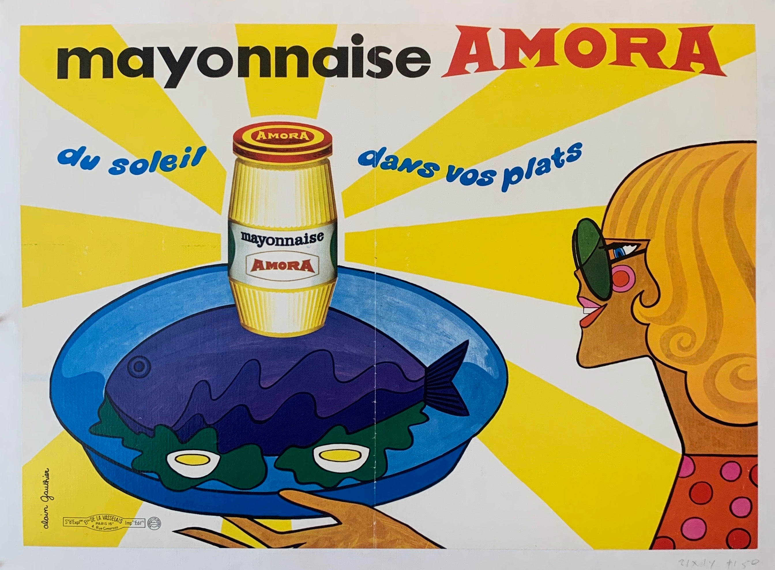 Mayonnaise Amora Advertisement