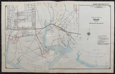 Long Island Index Map No.2 - Plate 5 Islip