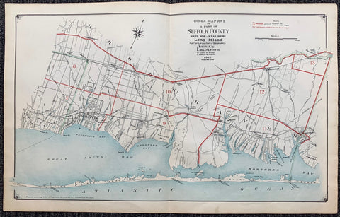 Index Map N.2 of a Part of Suffolk County