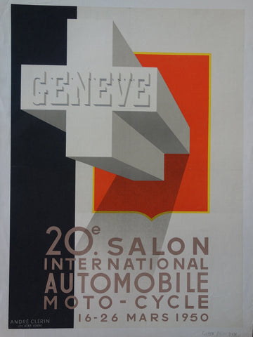 Geneve 20th Salon International Automobile Moto - Cycle
