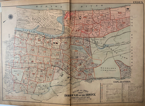 Atlas of the City of New York  Borough of the Bronx (Volume 2) 46
