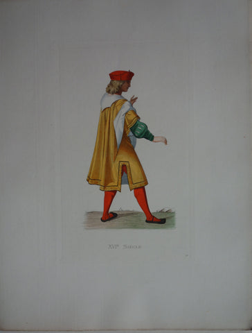 XVI Siecle French Merchant
