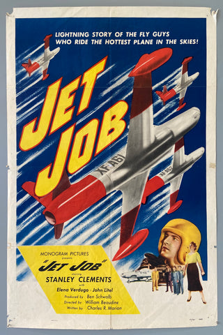 "Lighting story of the fly guys who ride the hottest plane in the skies! -- ""Jet Job"""