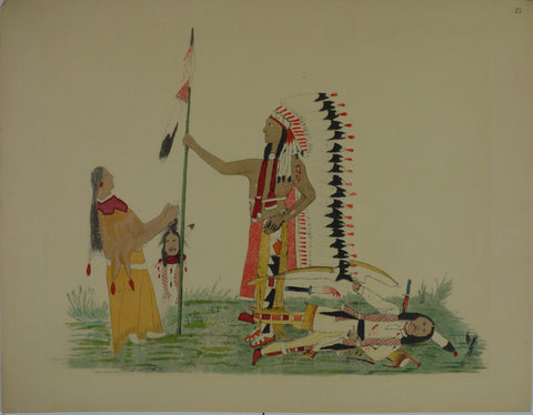 Sioux Indian Prints XXV