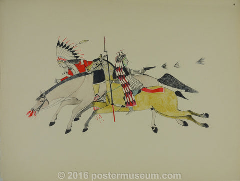 Sioux Indian Prints IV