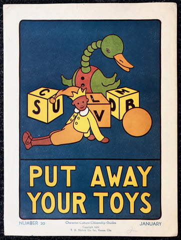 Put Away Your Toys