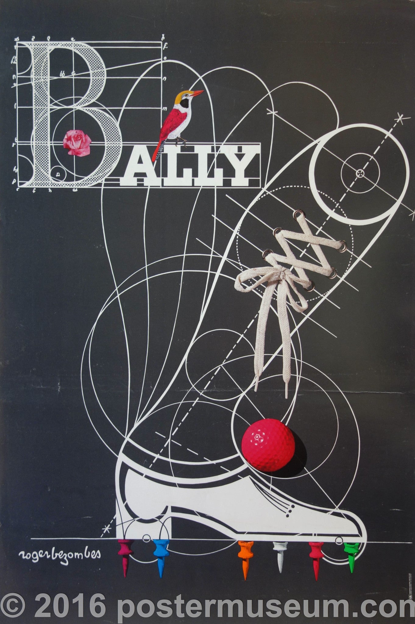 Ballys (Red Golf Ball)