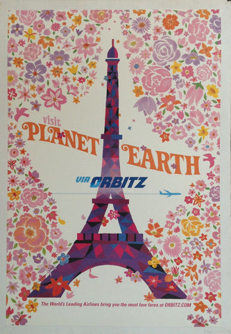 Visit Planet Earth Via Orbitz