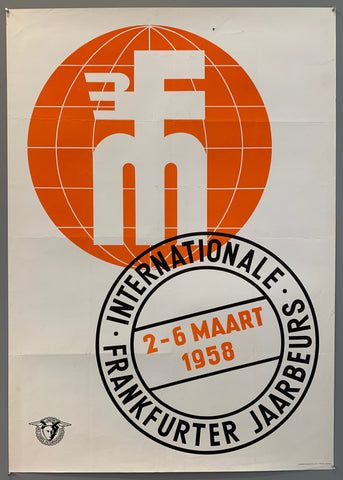Internationale Frankfurter Jaarbeurs Poster