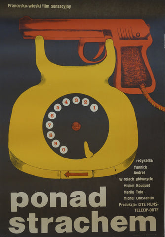 Polish film design poster