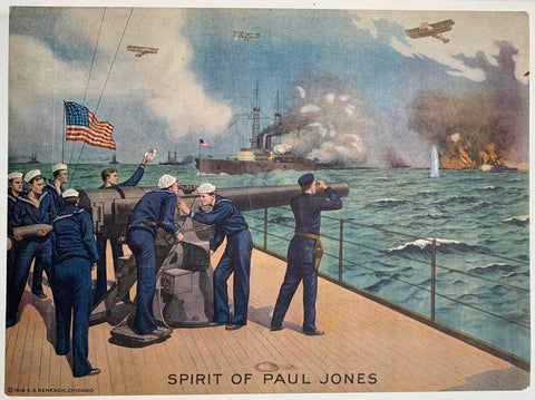 Spirit of Paul Jones - Poster Museum