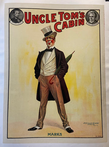 Uncle Tom's Cabin Marks Poster