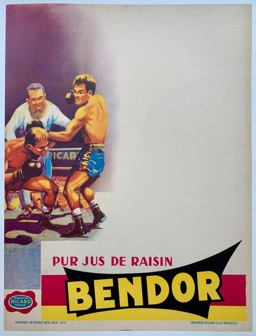 Pur Jus De Raisin Bendor