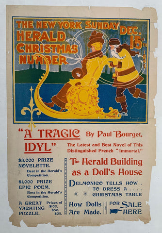 The New York Sunday Herald Christmas Number - Poster Museum