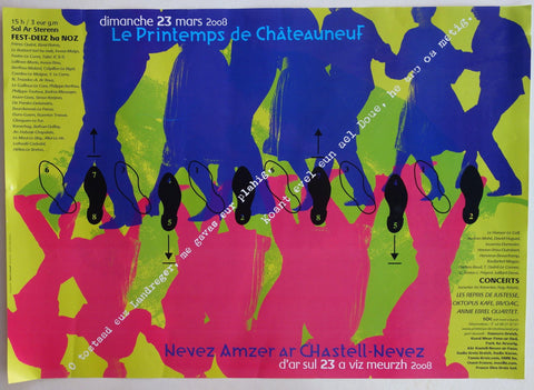 """Spring of Chateauneuf"" Music and Dance Festival - Poster Museum"