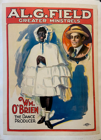 Al. G. Field Greater Minstrels Poster