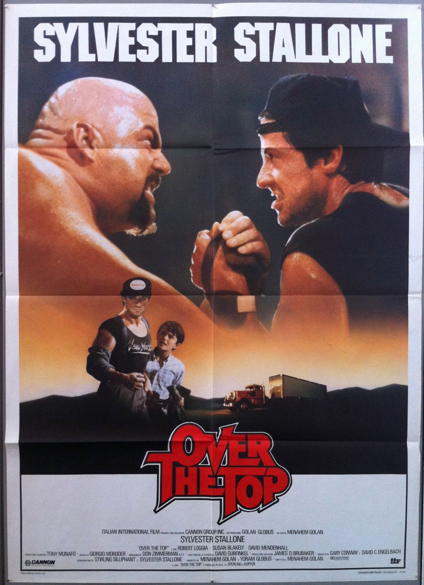 Over the Top (Alternate Poster)