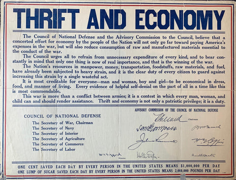Thrift and Economy
