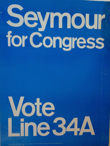 Seymour for Congress Blue