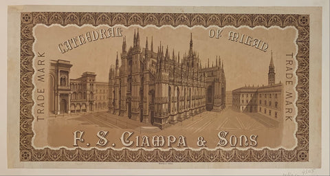 F.S. Ciampa & Sons Poster