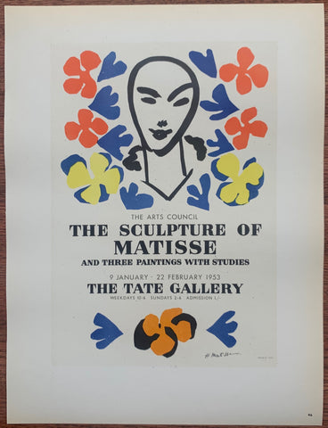 Henri Matisse The Sculpture Of Matisse #46