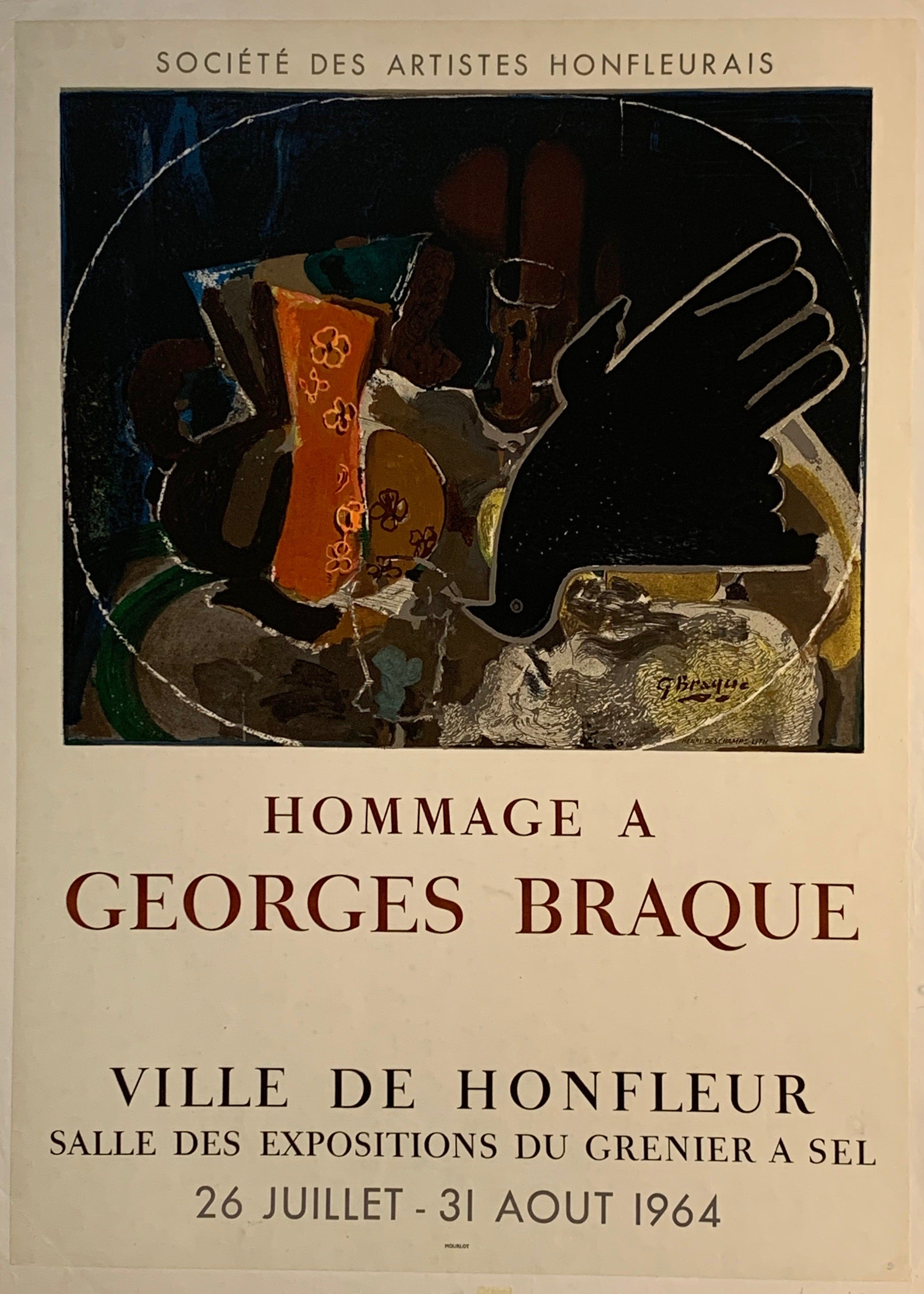 Hommage a Georges Braque