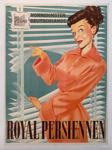 Royal Persiennen Poster