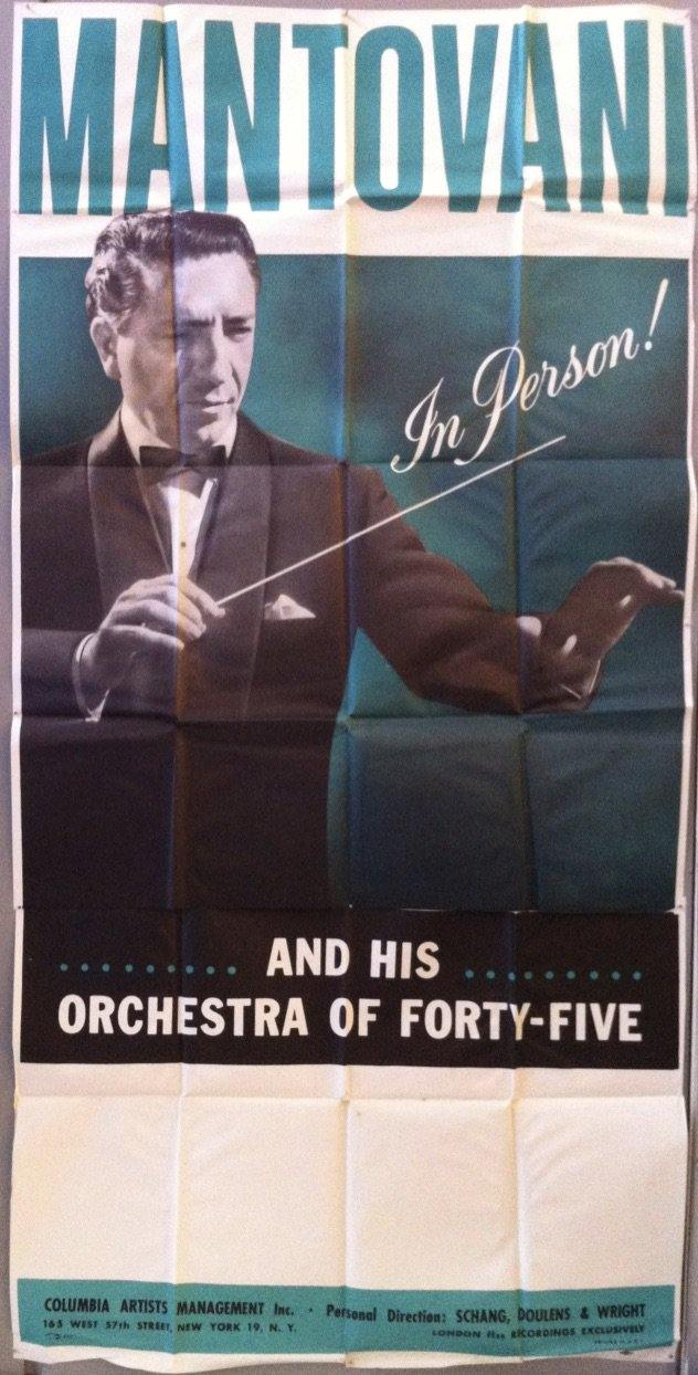 Mantovani and his Orchestra of Forty-Five