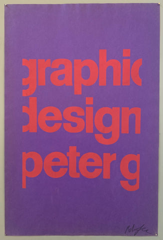 Graphic Design Peter G #11