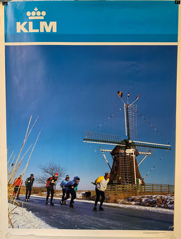 "KLM Airlines Travel ""Dutchland"" - Poster Museum"